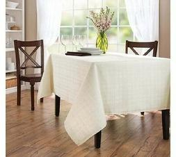 Better Homes and Gardens MicrofiberTable Cloth, Ivory