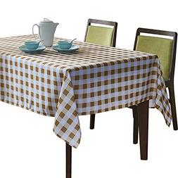 YEMYHOM Modern Printed Spill Proof Cloth Rectangle Tableclot