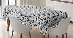 Moon Tablecloth Ambesonne 3 Sizes Rectangular Table Cover Ho