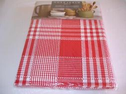 New! Cloth Red Farmhouse Kitchen Tablecloth Dining Table Clo