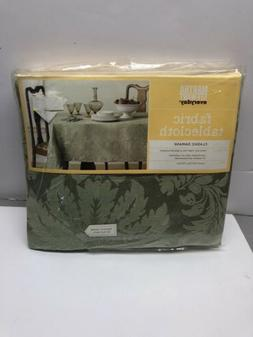 new cloth tablecloth sage green classic damask