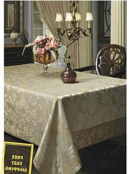 New Dining Harvest Fall Harmony Scroll Silver Gold Indoor &