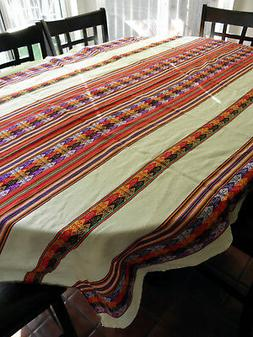 New From Peru Andean Inca Cotton Table Cloth Table Cover 80x