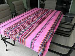 New From Puno Peru Andean Inca Cotton Table Cloth Table Cove