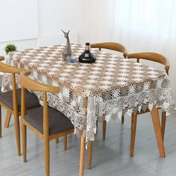 New Hollow Tablecloth Hollowed Embroidered Knit European Sty