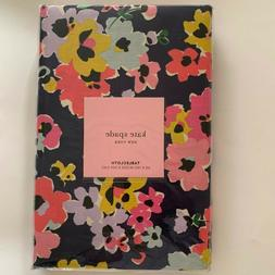 Kate Spade New York Blue Wildflower Bouquet Cotton Table Clo