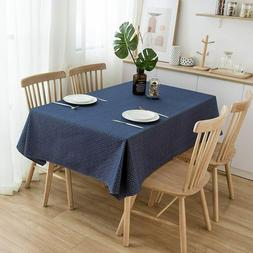 NorthShore Linen Cotton Blue Table Cloth