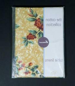 nos cotton collection fruit tablecloth 60 x