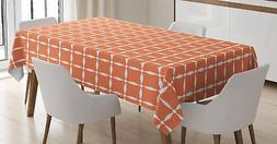 Ornate Colorful Tablecloth by Ambesonne 3 Sizes Rectangular