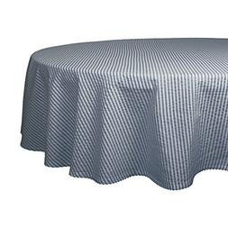 DII Otton Seersucker Striped Tablecloth for Weddings, Picnic