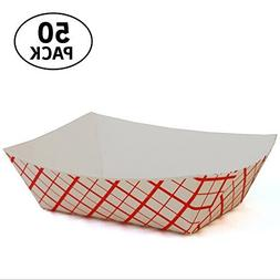 5 lb Paperboard food trays for French Fries, Hot Dogs, Carni