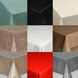 plain textured pvc oil vinyl table cloth