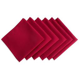 """DII Wrinkle Resistant 20x20"""" Polyester Napkin, Pack of 6, Re"""