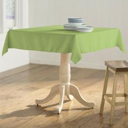 LA Linen Polyester Poplin Square Tablecloth, 52 by 52-Inch.