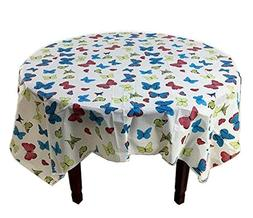 5 Pcs Printing Plastic Table Covers Disposable Party Tablecl