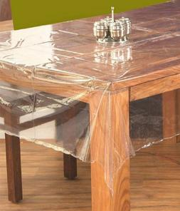 PVC Center Table Cover Set-Transparent,Dining Table cloth/Cl