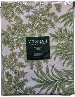Lauren Ralph Floral Tablecloth Palm Tropical/Sage 60 x 102 1