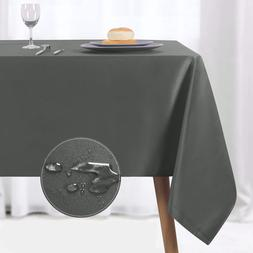NLMUVW Rectangle Table Cloth, Waterproof Oblong Tablecloth,