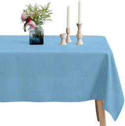 VEEYOO Rectangle Tablecloth - 60 x 102 Inch Polyester Table