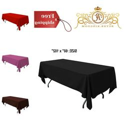 Rectangle Tablecloth Table Cloth Cover Oblong Protector Stai
