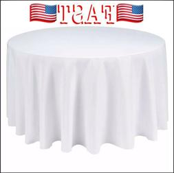Remedios Round Table Cloth 132 inch Polyester Tablecloth Tab