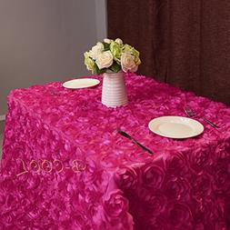 B-COOL Rose Pattern Tablecloth 3d floral tablecloth Rosette