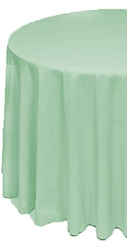 A-1 Tablecloth Company Round 120-Inch Polyester Table Cloth,
