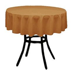 round polyester tablecloth multiple