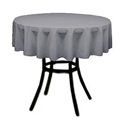 Runner Linens Factory Round Polyester Tablecloth 30 Inches