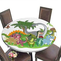 Round Table Cloth for Foot Table in Washable Polyester Suita