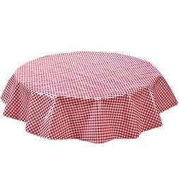 Freckled Sage Oilcloth Products Round Oilcloth Tablecloth In