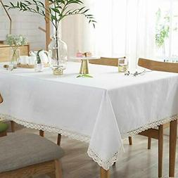 Sandweek Classic Rectangle Table Cloth in Washable Cotton Li