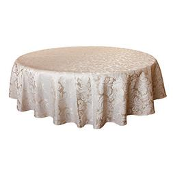 scroll damask jacquard tablecloth spillproof