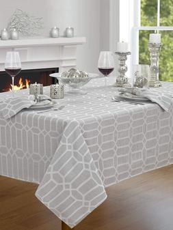 """Creative Dining Group Shimmer Fabric Tablecloth, 60 by 120"""","""