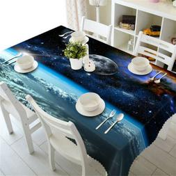 Sky Close To Sea 3D Tablecloth Table cover Cloth Rectangle W