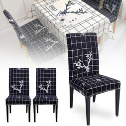 Slipcover Table Cloth Chair Seat Cover Kitchen Dining Room T