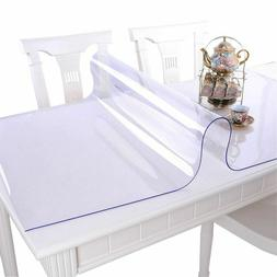Soft Glass PVC Tablecloth Waterproof Anti Hot Oilproof Plast