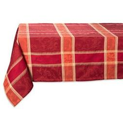 "DII 52x52"" Square Cotton Tablecloth, Harvest Wheat - Perfect"