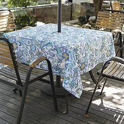 Eforgift Stain Free Spill Proof Umbrella Tablecloth with Zip