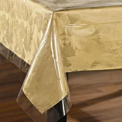 Super Clear Table Cloth Cover Protects Fabrics Heavyweight &