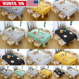 Table Cloth Cover Home Kitchen Dining Table Covers Party Tab