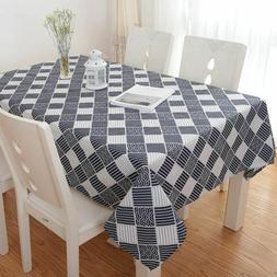Table Cloth Geometric Tablecloth Nappe Table Cover Party Wed