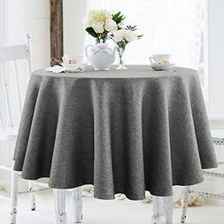Table Cloth Linen Rustic Heavy Duty Fabric Stain Proof Water