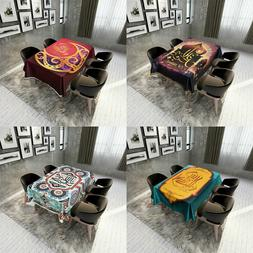 Table Cloth Ramadan Table Cover Tablecloth Waterproof Moslem