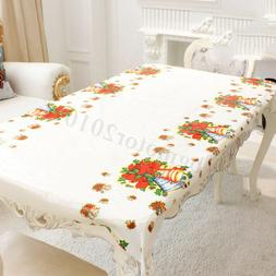 Table Cloth Rectangle Oblong Tableware Disposable Cover Fest
