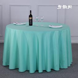 Table Cloth Thickening Hotels Round Tables Tablecloths Resta