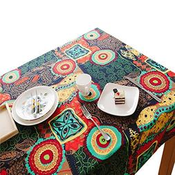 Lemon hour Table Cover, Rectangle Dining Room Modern Tablecl