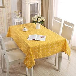 Lemon hour Table Covers, Rectangle Dining Room Modern Tablec
