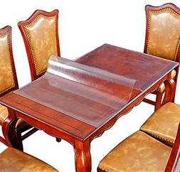 Wood Furniture Dining Coffee Table Protector Thick Plastic T