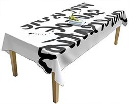 BottleCloth Premium Tablecloth - Superior Quality, Easy Clea
